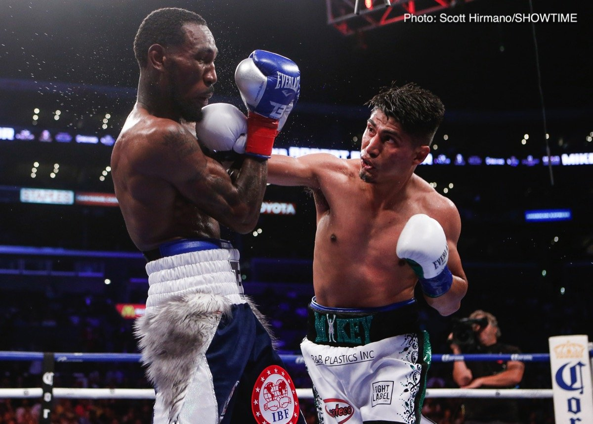 Robert Easter Jr. - Mikey Garcia became the 10th lightweight champion to unify the division with a unanimous decision against Robert Easter Jr. Saturday on SHOWTIME, and immediately afterward set his sights on boxing's best, namely Errol Spence Jr.