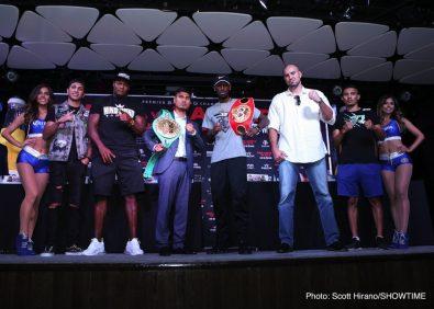 Mikey Garcia Robert Easter Jr. Boxing News Top Stories Boxing