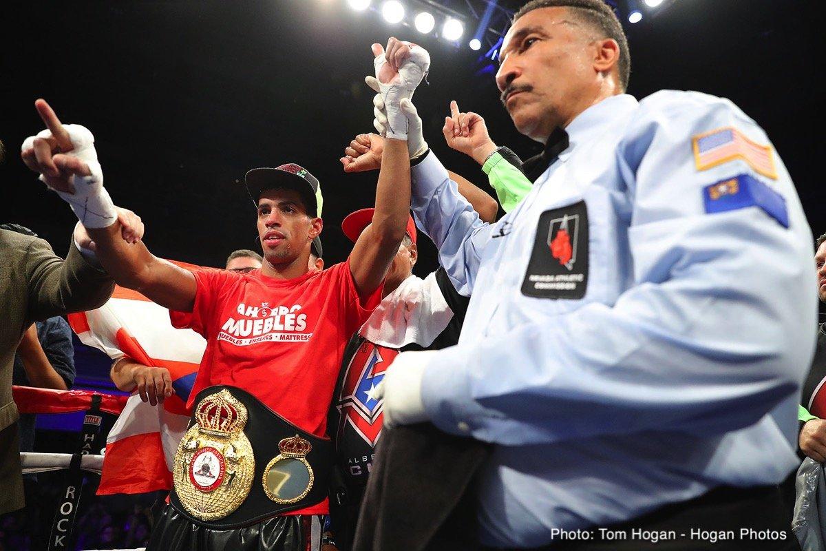 Alberto Machado Andrew Cancio Franklin Manzanilla Rey Vargas Boxing News