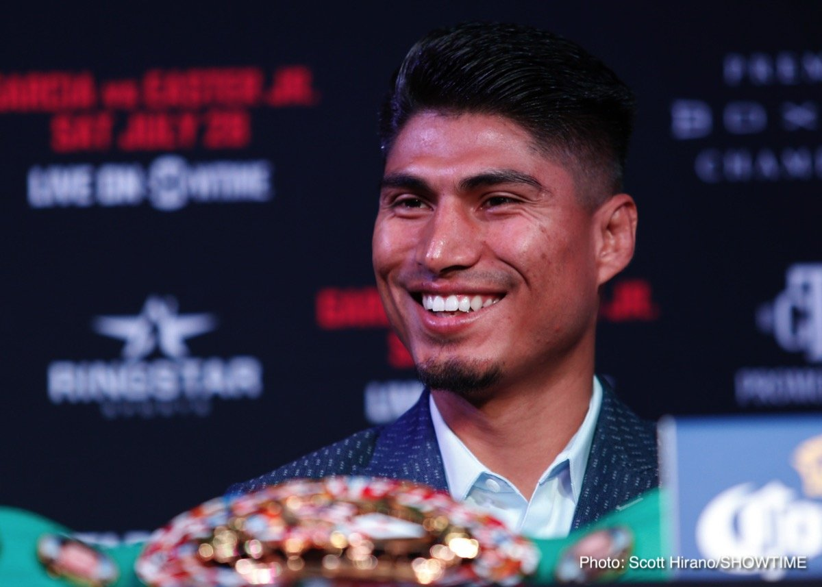 Mikey Garcia Robert Easter Jr. Boxing News Top Stories Boxing