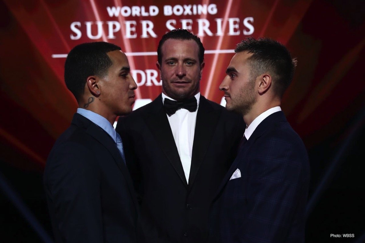 Josh Taylor, Kiryl Relikh, Naoya Inoue, Nonito Donaire, Regis Prograis, Ryan Burnett - The quarter-finals for Season II of the World Boxing Super Series were set for the tournament's Super-Lightweight and Bantamweight brackets at a Draft Gala Friday night at the Rossiya Theatre in Moscow.