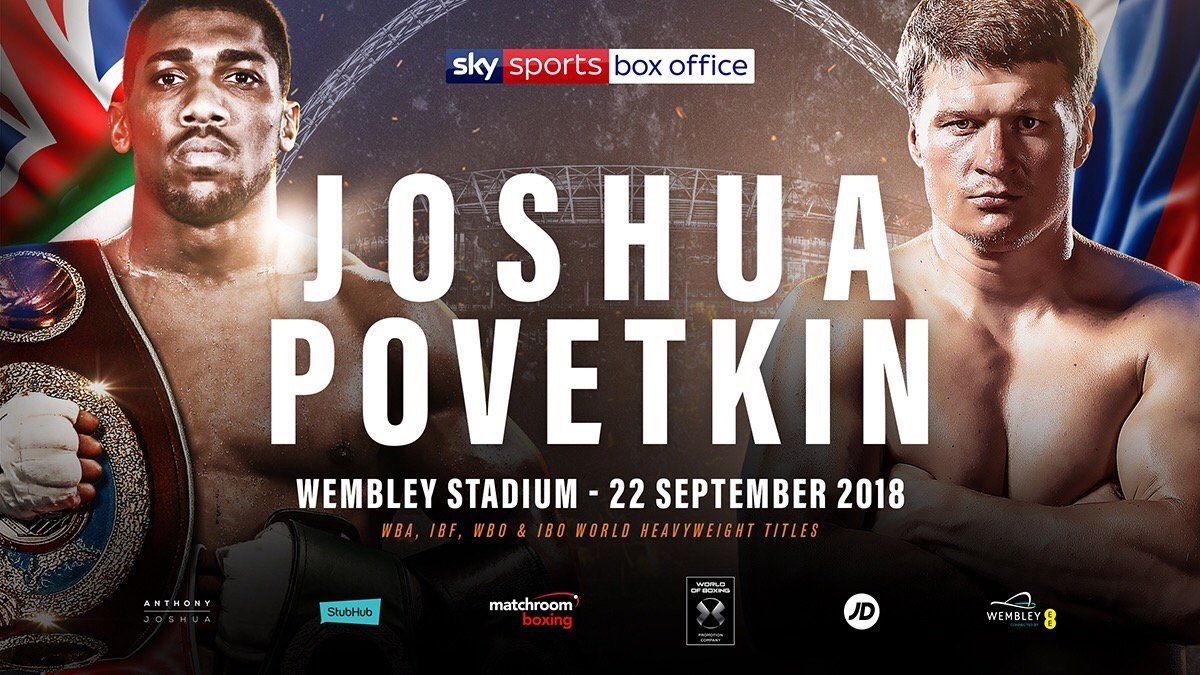 Alexander Povetkin Anthony Joshua Boxing News British Boxing Top Stories Boxing