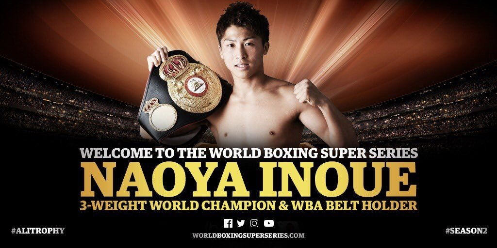 Naoya Inoue ready to compete for the Muhammad Ali Trophy; Season II Draft to take place in Moscow on 20 July