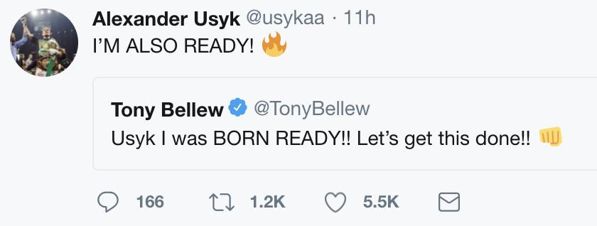 Aleksandr Usyk Tony Bellew Boxing News Top Stories Boxing