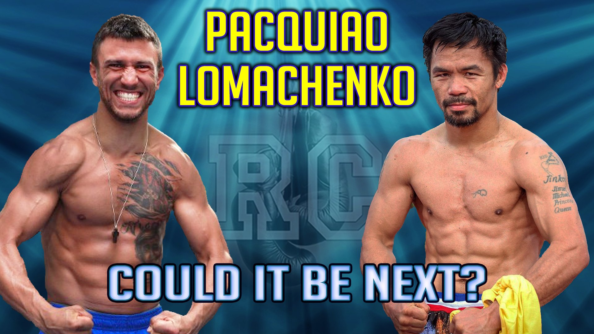 VIDEO: Vasyl Lomachenko vs Manny Pacquiao?