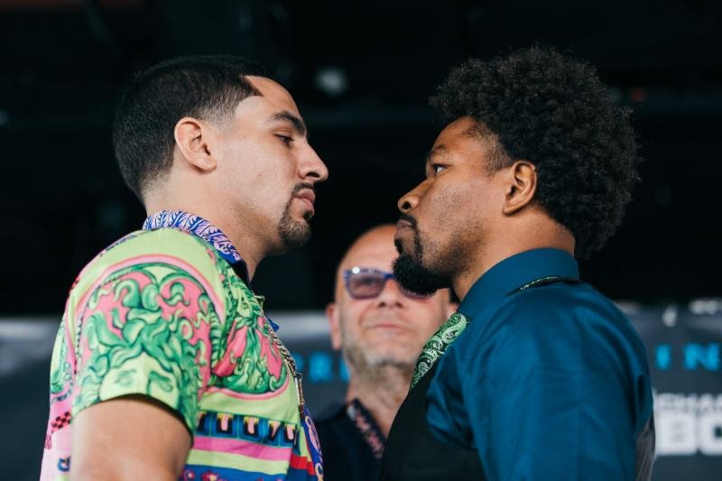 Danny Garcia Shawn Porter Boxing Interviews Boxing News