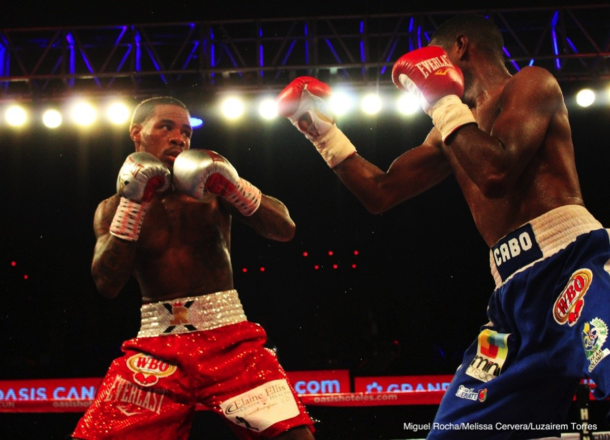 Lamont Roach Jr. - Lamont Roach, Jr. (17-0-1, 7 KOs) of Washington, D.C. delivered a spectacular sixth-round technical knockout victory over Deivis Julio Bassa (20-5, 12 KOs)  to capture the vacant WBO International Super Featherweight Championship in the scheduled 10-round main event of the July 20 edition of Golden Boy Boxing on ESPN at the Oasis Arena in Cancun, Mexico.