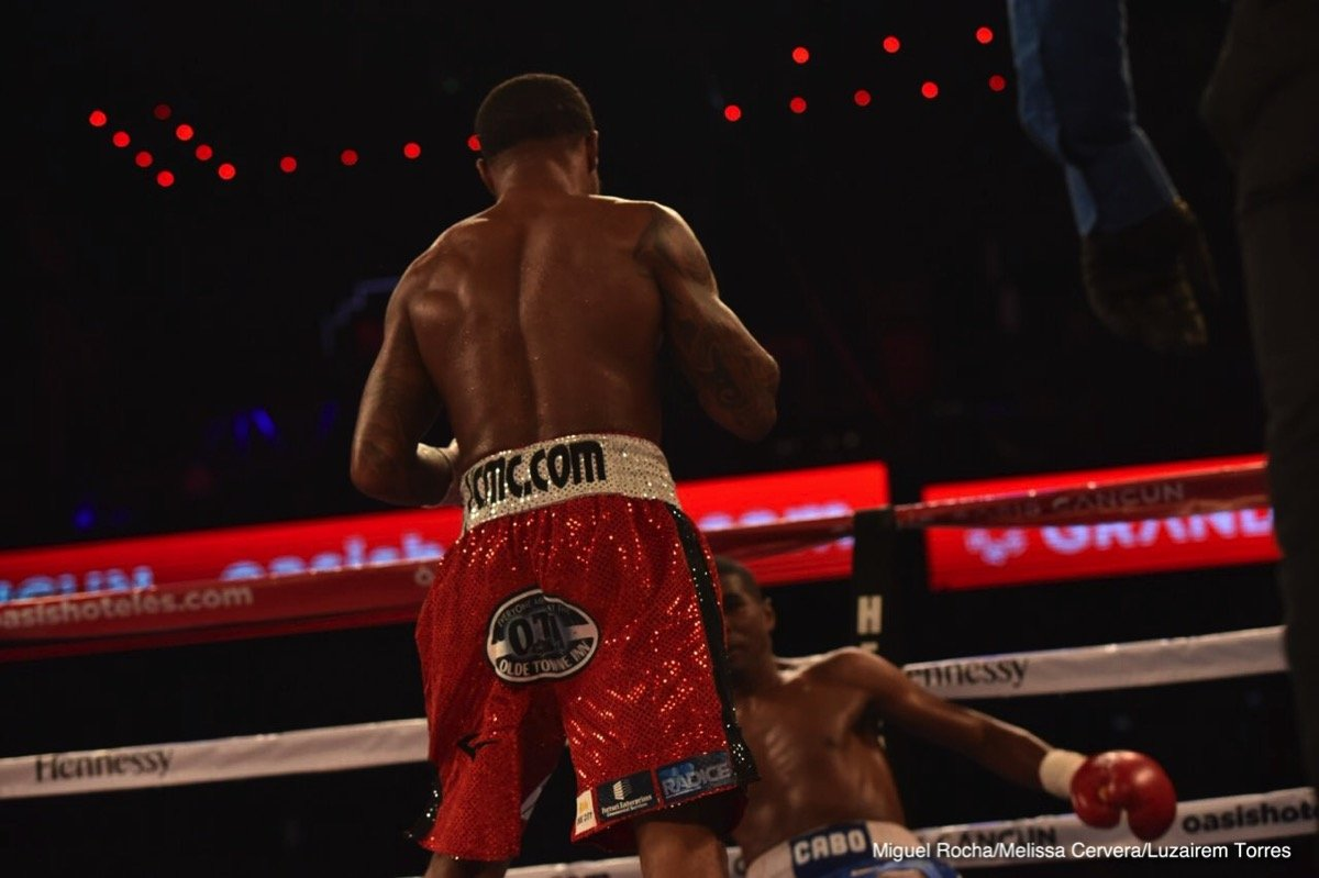 Deivis Julio Bassa Lamont Roach Jr. Boxing News Boxing Results