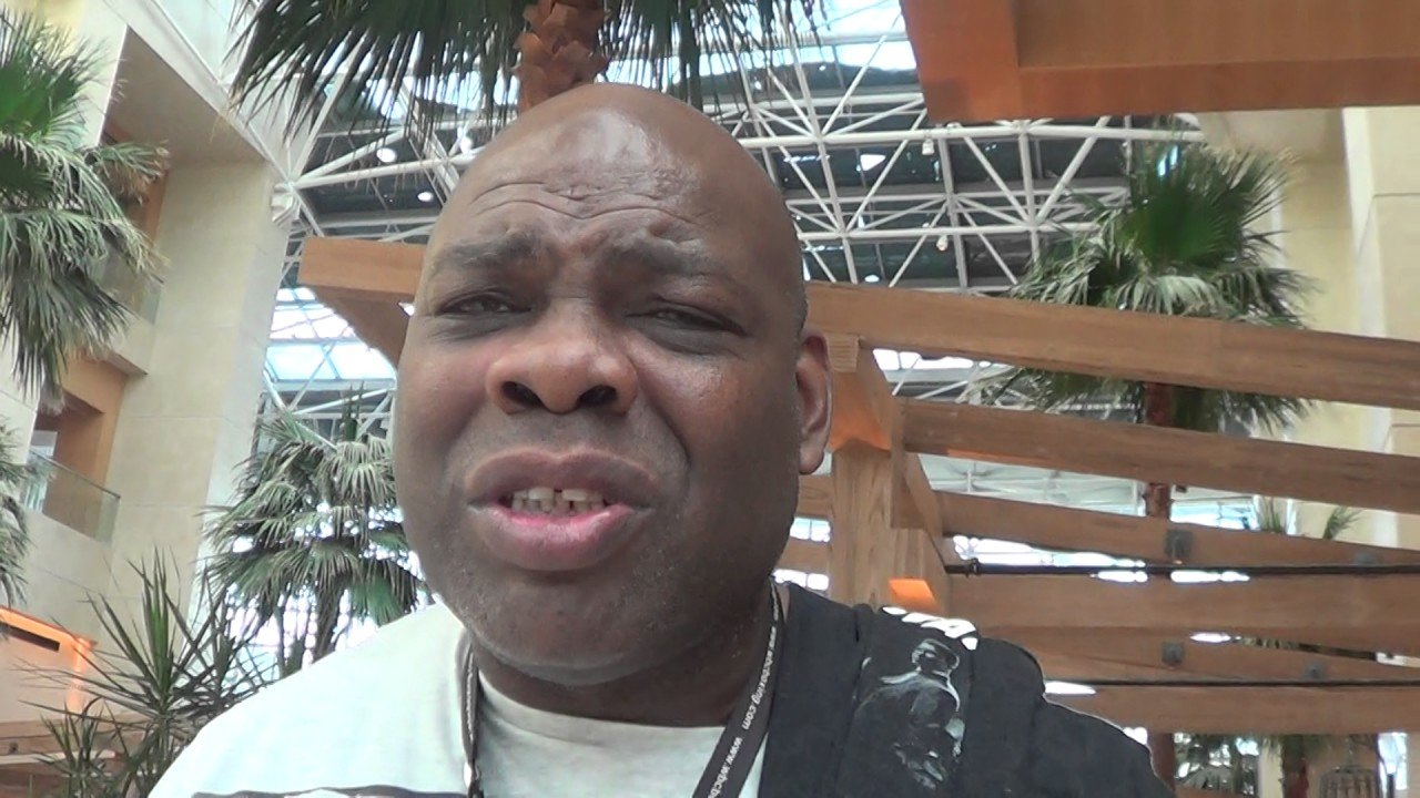 """Iran Barkley - There seems little to no chance it would be permitted to happen, not in an officially sanctioned fight anyway, but former three-weight champ Iran Barkley says he is to launch a comeback - """"probably at cruiserweight, maybe at heavyweight"""" - in the near future. """"The Blade's"""" current age? 58."""
