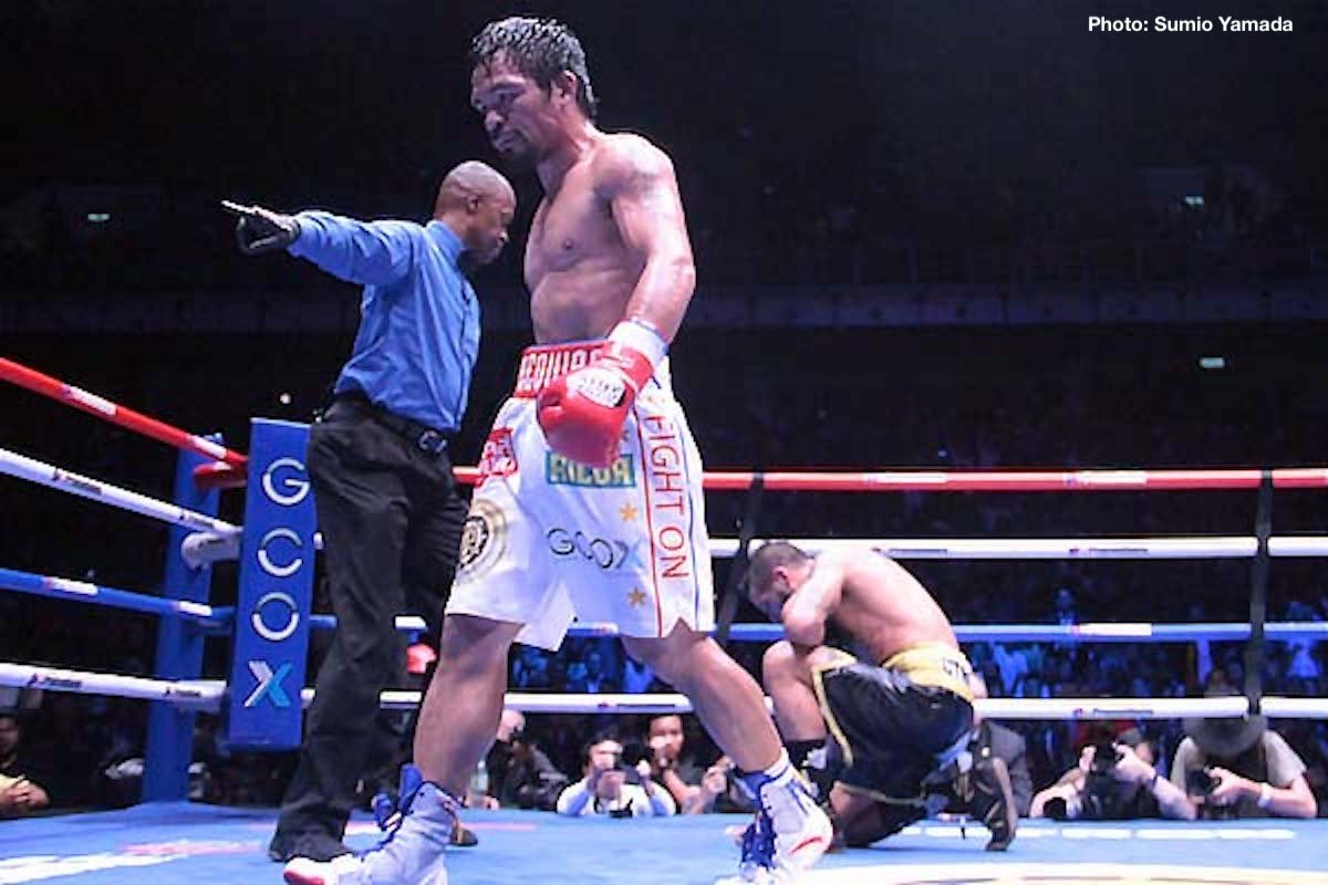 Amir Khan Manny Pacquiao Boxing News
