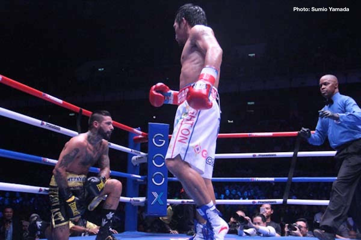 Left-Hook Lounge Mailbag: Pacquiao Victory, Pacquiao Better Without Roach?, Pacquiao v Lomachenko?