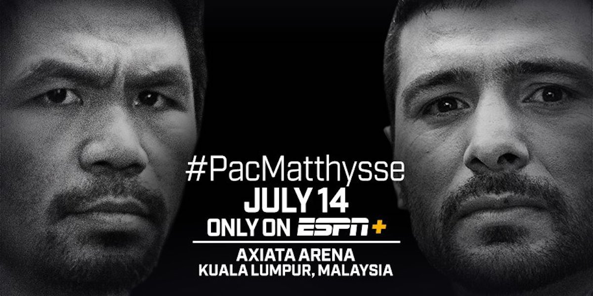 Lucas Matthysse - A new and improved Manny Pacquiao found the fabled Fountain of Youth on Saturday night in destroying WBA World welterweight champion Lucas Matthysse by a 7th round knockout at the Axiata Arena in Kuala Lumpur, Malaysia.
