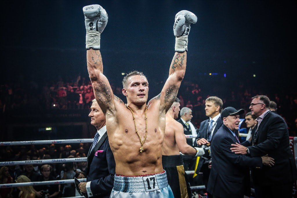 Aleksandr Usyk - Oleksandr Usyk's heavyweight debut has been quite a long time in coming. Initially, the first man in boxing history to have won all four versions of the cruiserweight title – WBA/WBC/WBO and IBF – was to have tested the heavyweight waters against tough and experienced veteran Carlos Takam, on May 25th. An injury suffered by Usyk scuppered that bout, it now seems for good.