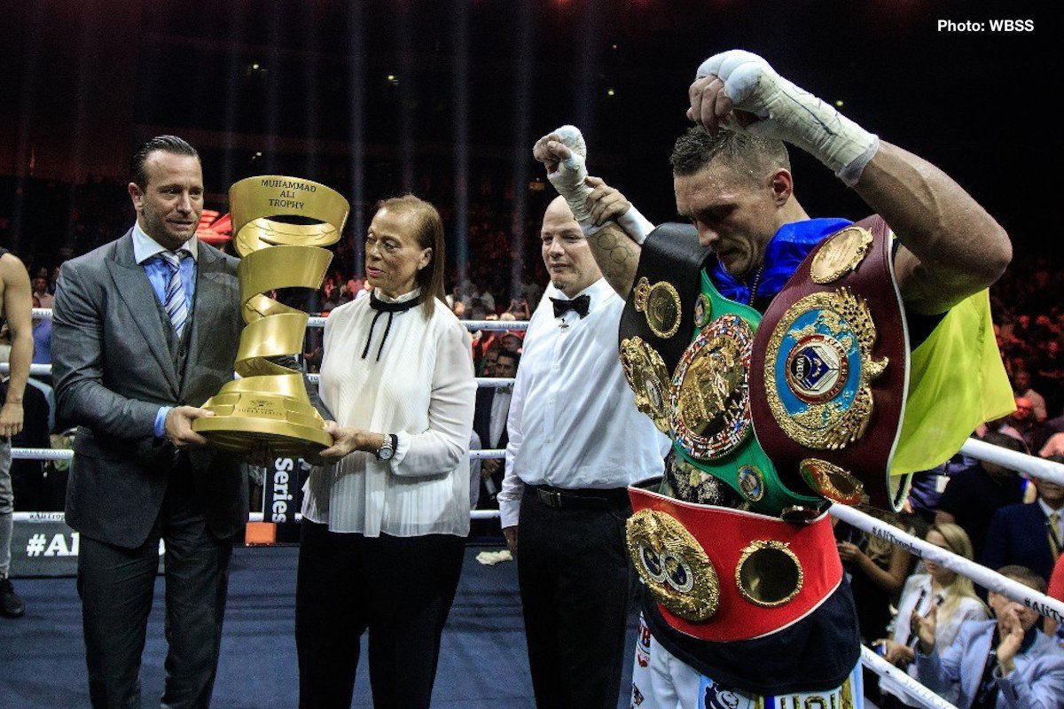 Aleksandr Usyk Murat Gassiev Boxing News Boxing Results Top Stories Boxing