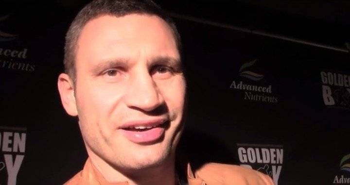 Vitali Klitschko - ...but the German fans scream for Haye