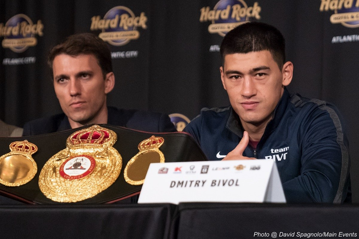 Dmitry Bivol Isaac Chilemba Boxing News