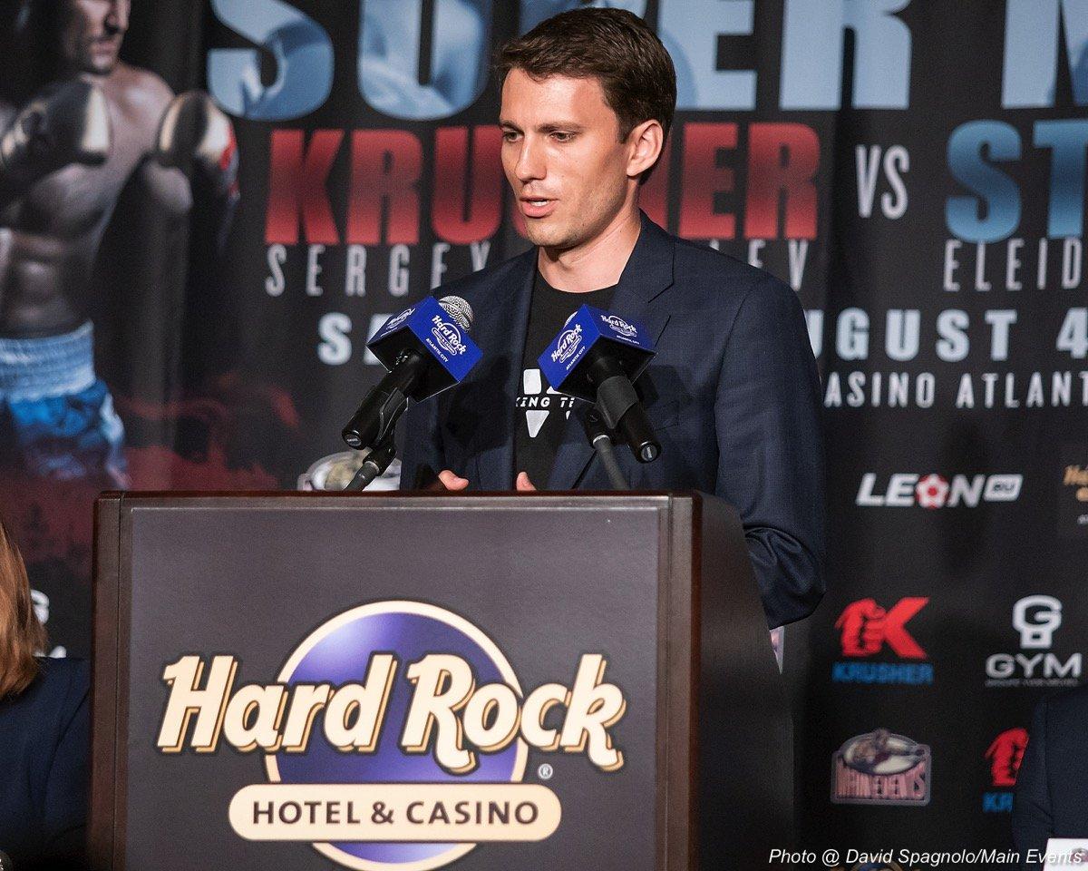 "Dmitry Bivol Eleider ""Storm"" Alvarez Isaac Chilemba Sergey Kovalev Boxing News"