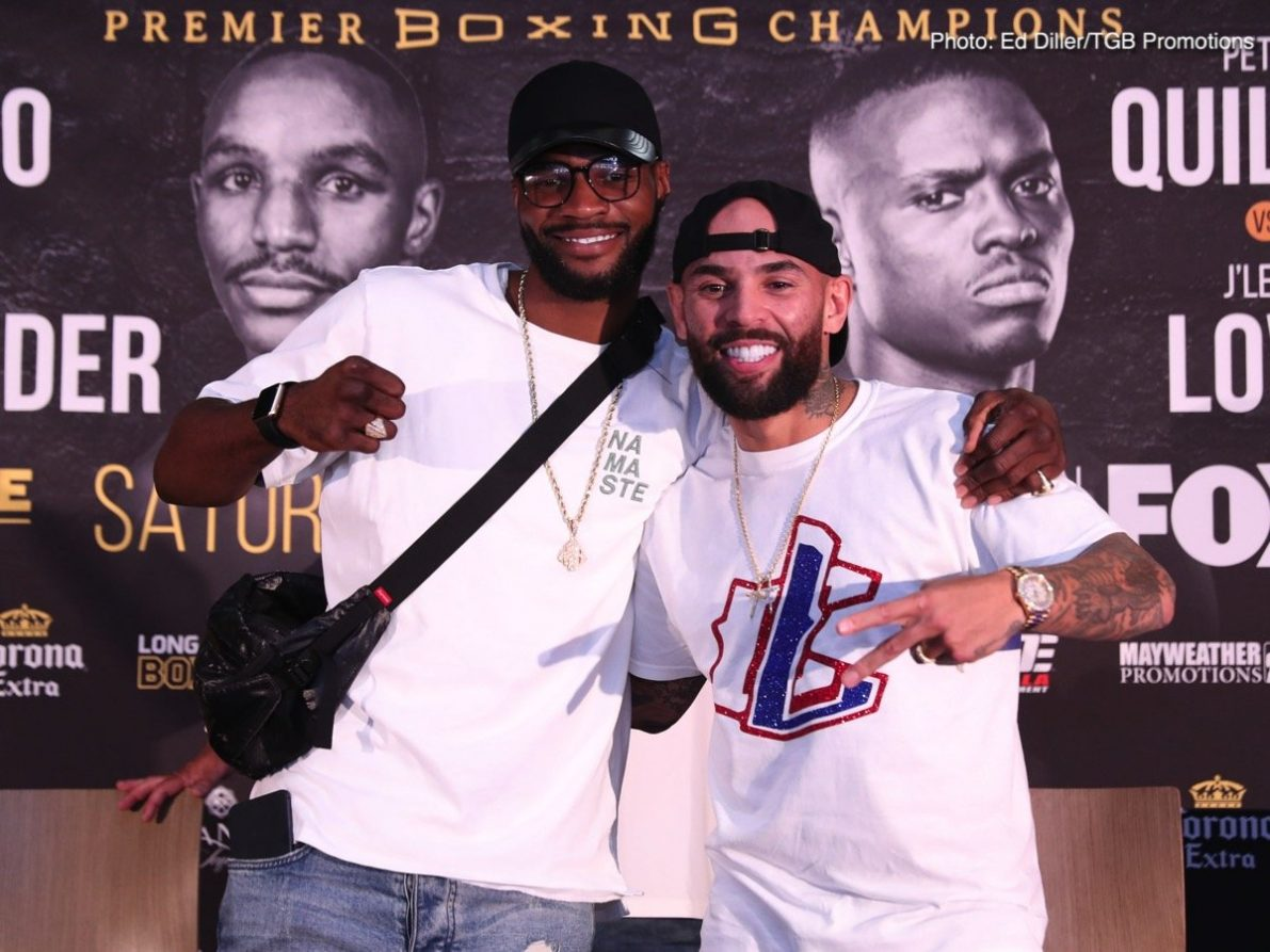 Andre Berto Devon Alexander J'Leon Love Peter Quillin Boxing News