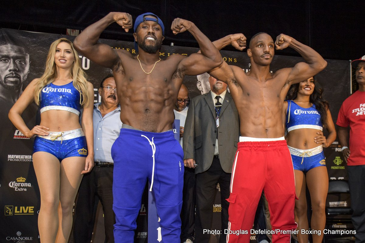 Former welterweight world champions Andre Berto and Devon Alexander went face-to-face Thursday at the final press conference before their primetime main event Saturday, August 4 in the main event of Premier Boxing Champions on FOX & FOX Deportes from NYCB LIVE, home of the Nassau Veterans Memorial Coliseum.