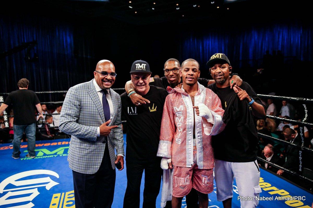 Dennis Galarza Ladarius Miller Boxing News Boxing Results