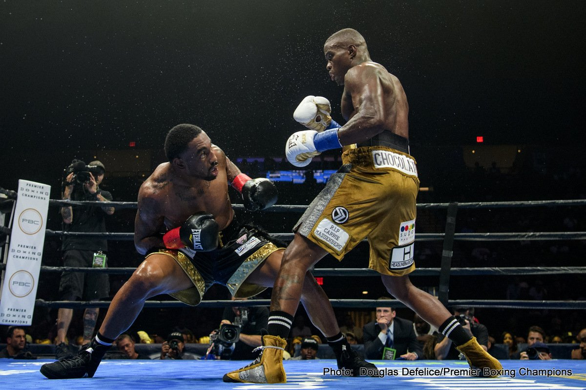 """Alfredo Angulo, Peter Quillin - Former world champion Peter """"Kid Chocolate"""" Quillin will duel hard-hitting Alfredo Angulo in a 12-round super middleweight showdown that headlines FS1 PBC Fight Night and on FOX Deportes on Saturday, September 21 from Rabobank Arena in Bakersfield, California."""