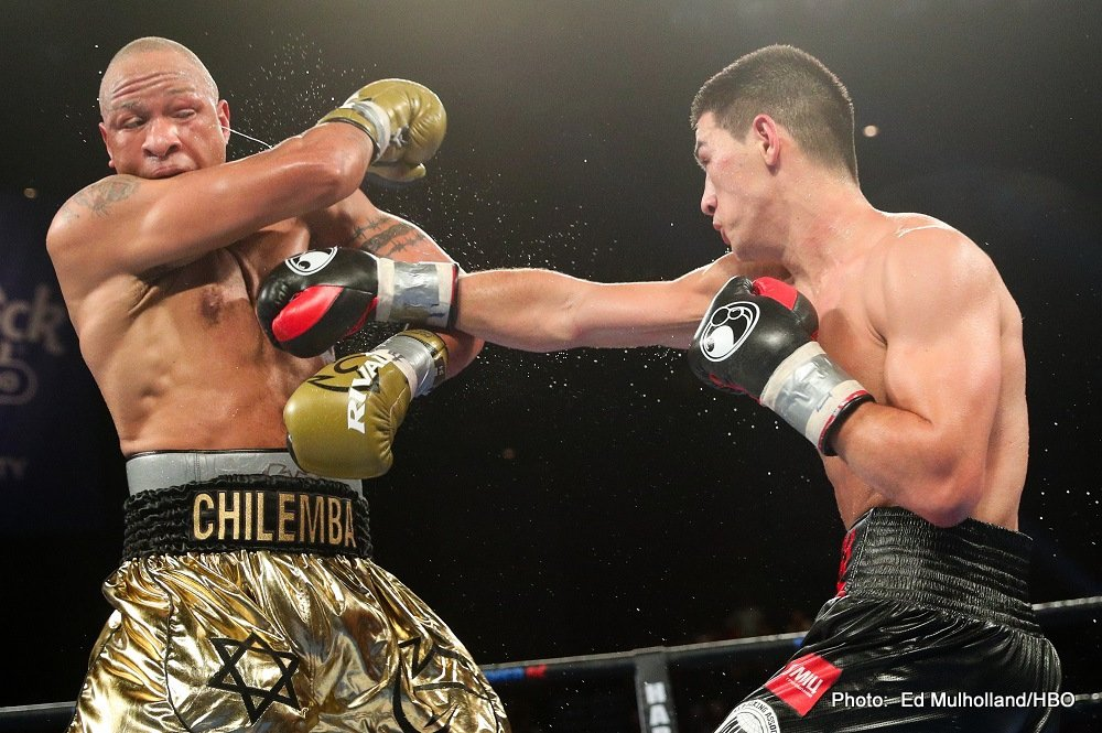 """Isaac """"Golden Boy"""" Chilemba - WBA World light heavyweight champion Dmitry Bivol (14-0, 11 KOs) used his superior offense armament to defeat veteran Isaac Chilemba (25-6-2, 10 KOs) by a lackluster 12 round unanimous decision on Saturday night at the Hard Rock Hotel & Casino in Atlantic City, New Jersey."""