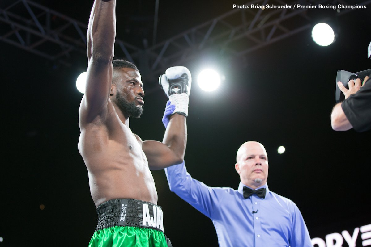 "Efe Ajagba - Bizarre is the only word fans could use to describe the ""action"" between heavyweights Efe Ajagba and Curtis Harper. Fighting last night in Minneapolis, unbeaten Nigerian Ajagba figured to get a test from the 12-6(9) Harper. Instead, he got nothing – apart from one huge shock."