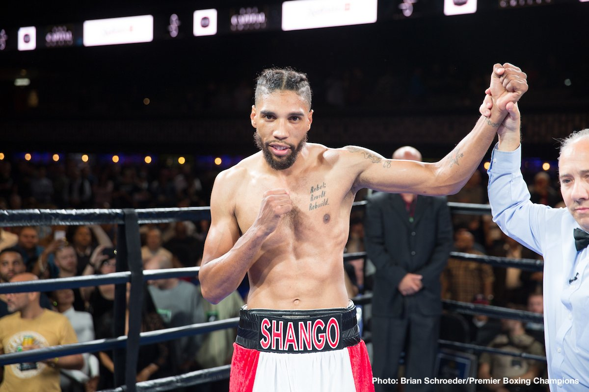 Eimantas Stanionis Jamal James Willie Monroe Jr. Boxing News Boxing Results