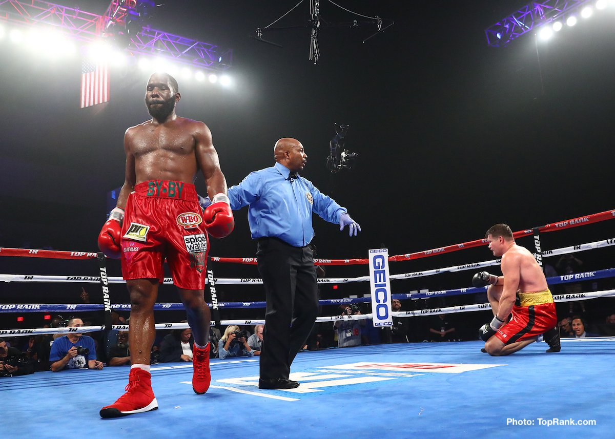 "Alexander Dimitrenko, Bryant Jennings - Bryant ""B.Y."" Jennings' climb up the heavyweight ladder continued, as the Philadelphia native got up off the deck to knock out Alexander ""Sascha"" Dimitrenko to win the vacant IBF International and NABO heavyweight titles in front of 2,543 fans at Ocean Resort Casino's Ovation Hall."