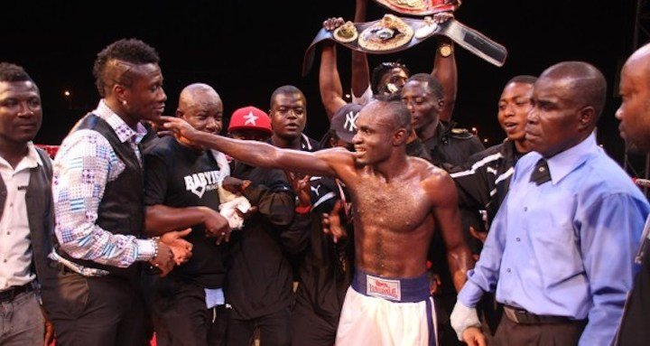 Emmanuel Tagoe - Emmanuel Tagoe of Ghana (28-1, 14 KOs) returns to ring action on 20 October against former WBA lightweight world champion, Paulus Moses of Namibia (40-4, 24 KOs) for the WBO Africa lightweight title on the first ever Asamoah Gyan Fight Night billed for the Bukom Boxing Arena in Accra.
