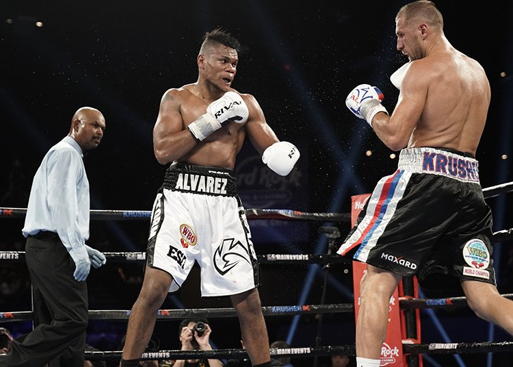 "Eleider Alvarez - One of the hottest fighters in the light-heavyweight division, if not in all of boxing, due to his sensational dethroning of WBO 175 pound ruler and former pound-for-pound entrant Sergey Kovalev, unbeaten Colombian Eleider Alvarez is planning on building on his stunning upset win with a quick return. The word is ""Storm"" Alvarez will fight next on December 8 and there is the possibility the new champion could face Kovalev in a return or reigning WBA light-heavyweight champ Dmitry Bivol."