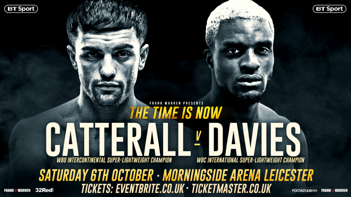 Jack Catterall Ohara Davies Boxing News British Boxing