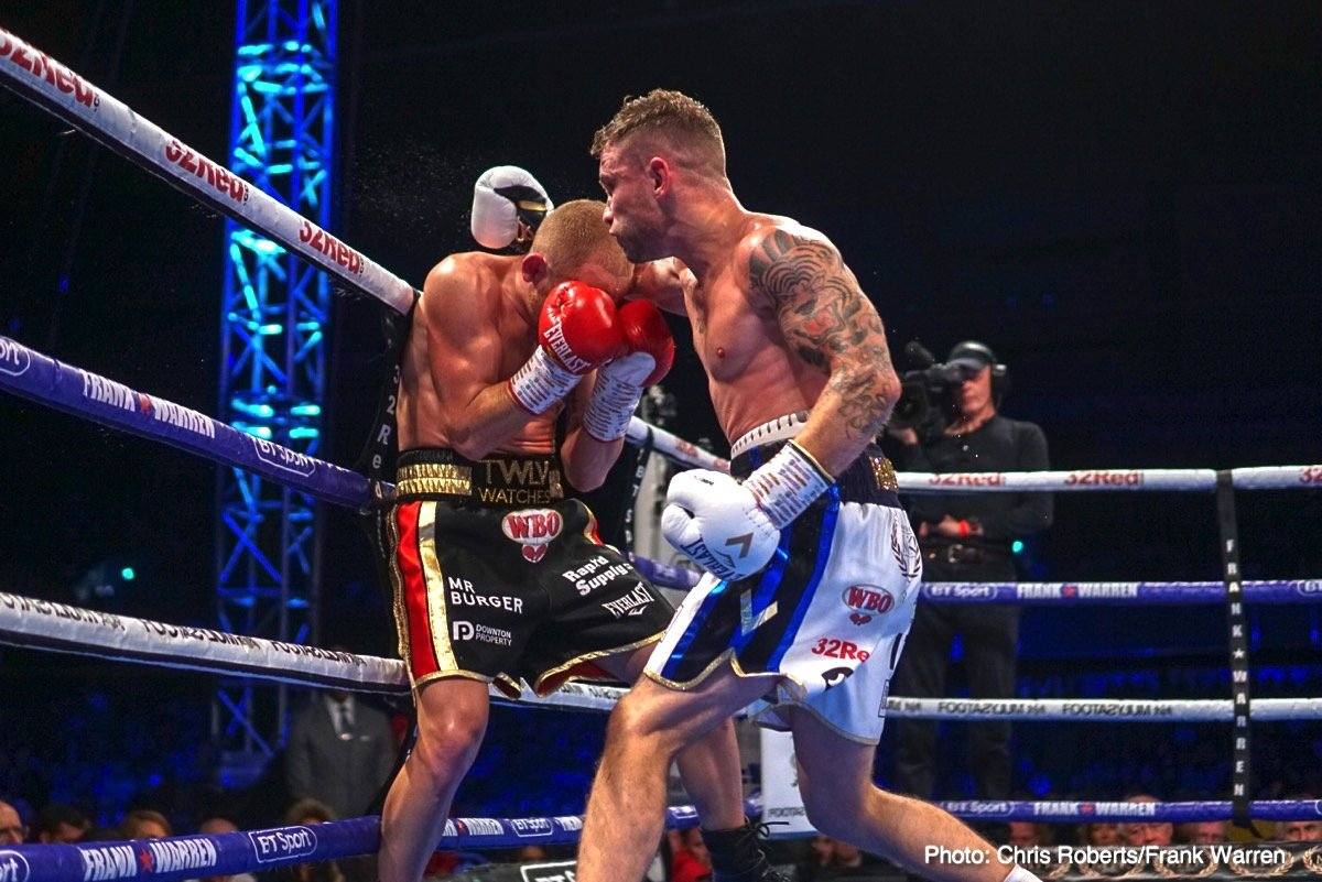 Carl Frampton Francesco Pianeta Luke Jackson Tyson Fury Boxing News Boxing Results