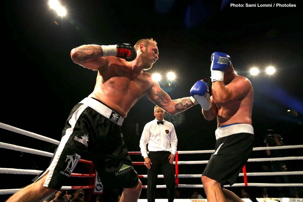 Robert Helenius - Aside from the Jorge Linares-Abner Cotto fight, there wasn't too much action taking place last night, but a reasonably big heavyweight scrap took place Stuttgart, Germany, as Robert Helenius and Erkan Teper battled it out for the vacant IBF inter-continental belt. With his very career on the line, 34 year old Helenius showed he still has something left to offer as he scored an impressive KO over Teper right at the end of the eighth-round.