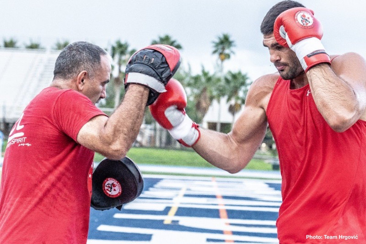 Amir Mansour Filip Hrgovic Boxing Interviews Boxing News