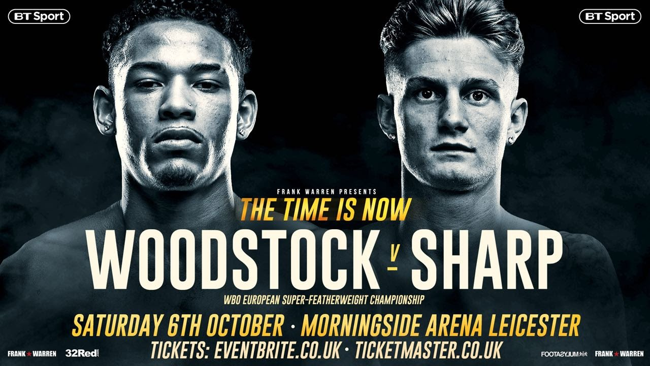 Archie Sharp, Lyon Woodstock - Archie Sharp is full of confidence going into his clash with Lyon Woodstock and states that his opponent's downfall will be because of his 'one dimensional' boxing ability.
