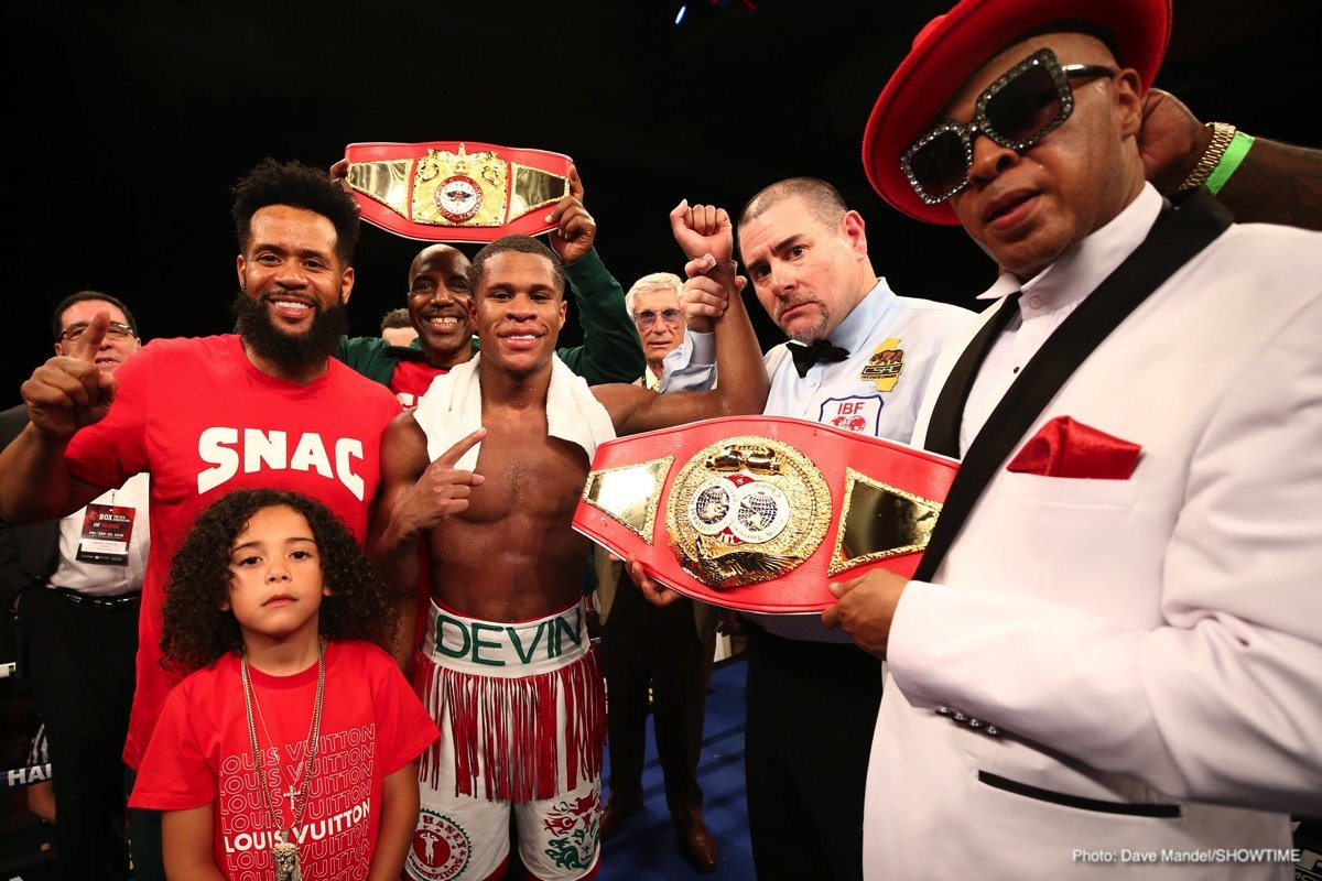 Devin Haney, Xolisani Ndongeni - Top lightweight prospect Devin Haney will face fellow-undefeated Xolisani Ndongeni in the first ShoBox: The New Generation telecast of 2019 on Friday, January 11 live on SHOWTIME at 10 p.m. ET/PT from StageWorks of Louisiana in Shreveport.