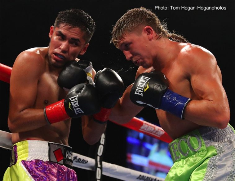 Carlos Morales Ryan Garcia Boxing News Boxing Results