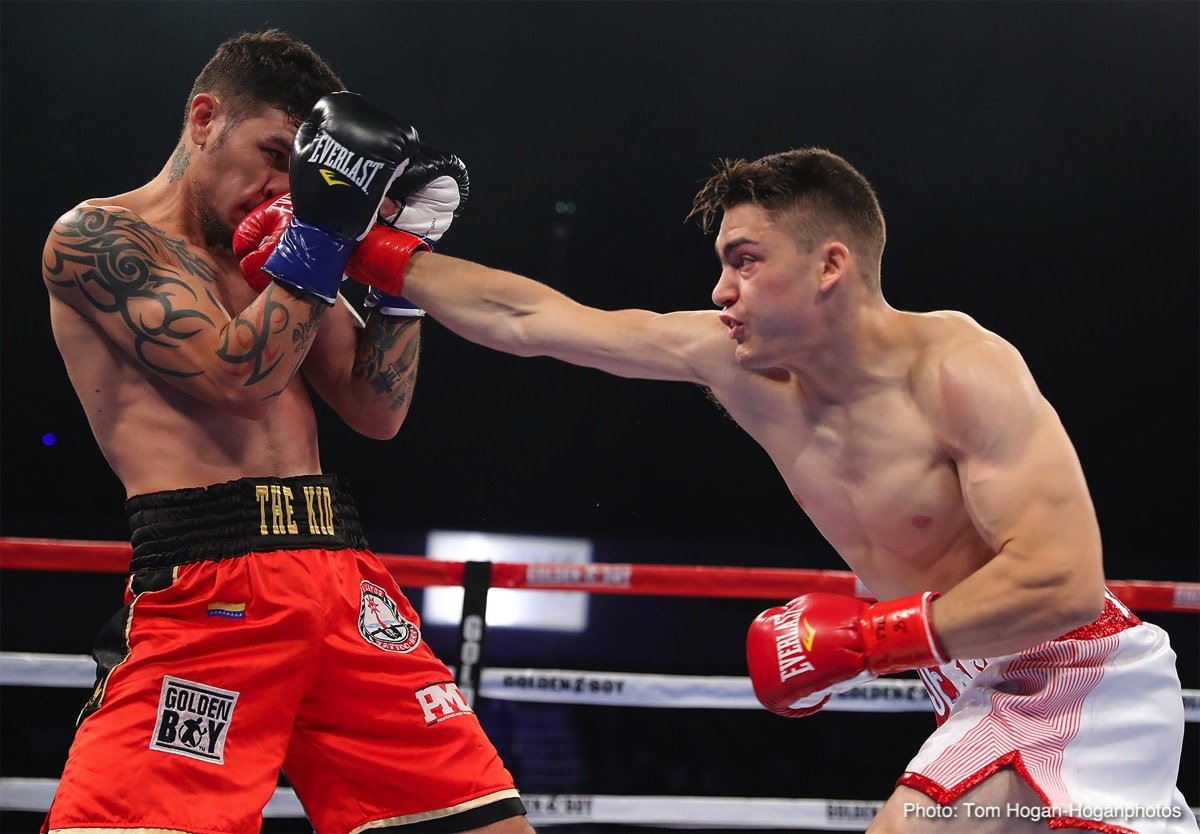 Abner Cotto Jorge Linares Boxing News Boxing Results