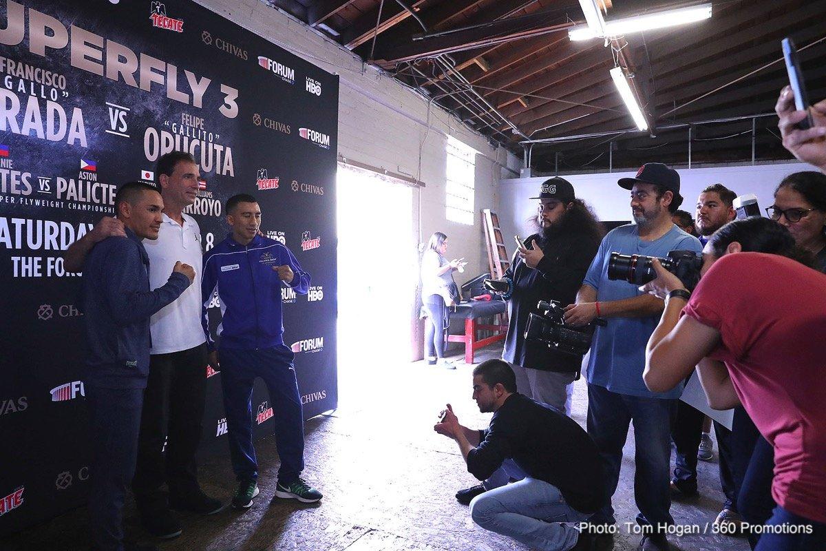 Felipe 'Gallito' Orucuta Juan Francisco Estrada Boxing News