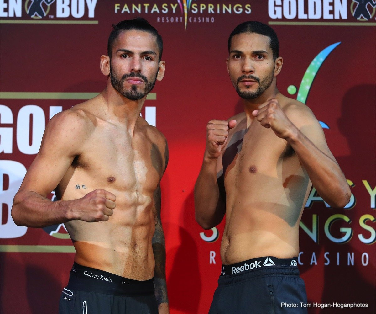 Abner Cotto Weigh-In Results & Photos