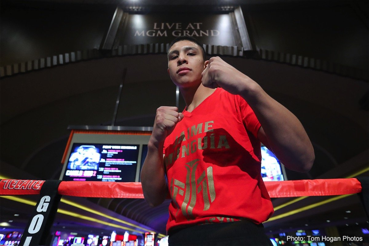 Dennis Hogan Jaime Munguia Boxing News