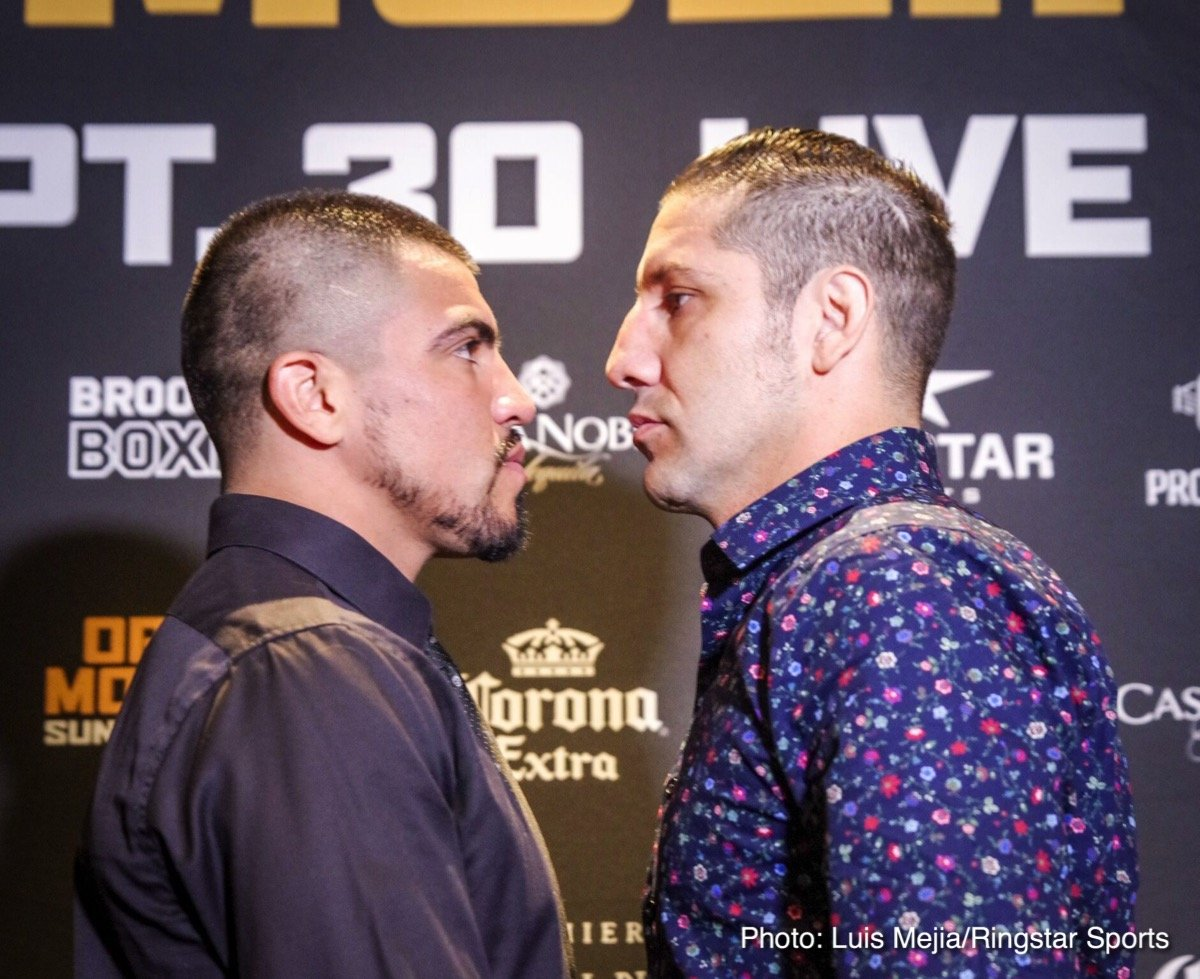 Former welterweight world champion Victor Ortiz and hard-hitting former title challenger John Molina Jr. spoke with media in Los Angeles Tuesday at a luncheon to discuss their upcoming showdown headlining Premier Boxing Champions on FS1 and FOX Deportes Sunday, September 30 from Citizens Business Bank Arena in Ontario, California.