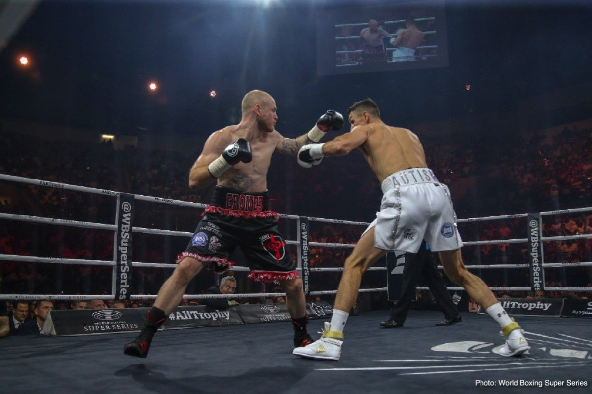 Callum Smith George Groves Boxing News Boxing Results