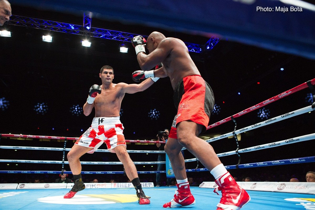 Amir Mansour Filip Hrgovic Boxing News Boxing Results