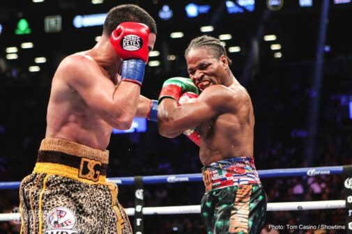 Adam Kownacki, Charles Martin, Danny Garcia, Shawn Porter, Yordenis Ugas - In a back and forth fight, 'Showtime' Shawn Porter (29-2-1, 17 KOs) outworked Danny 'Swift' Garcia (34-2, 20 KOs) by a 12 round unanimous decision to capture the vacant WBC 147 pound title on Saturday night on Showtime Championship Boxing at the Barclays Center in Brooklyn, New York.
