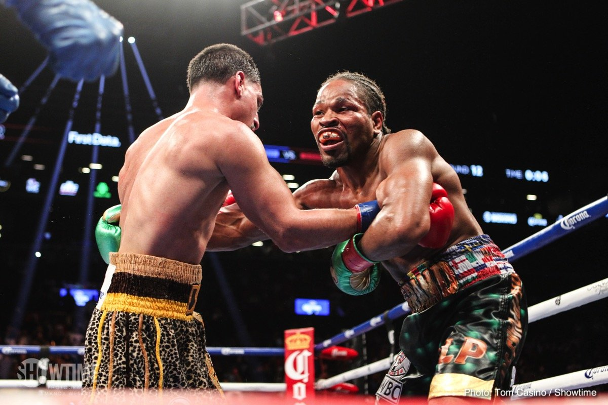 Errol Spence Shawn Porter Boxing News