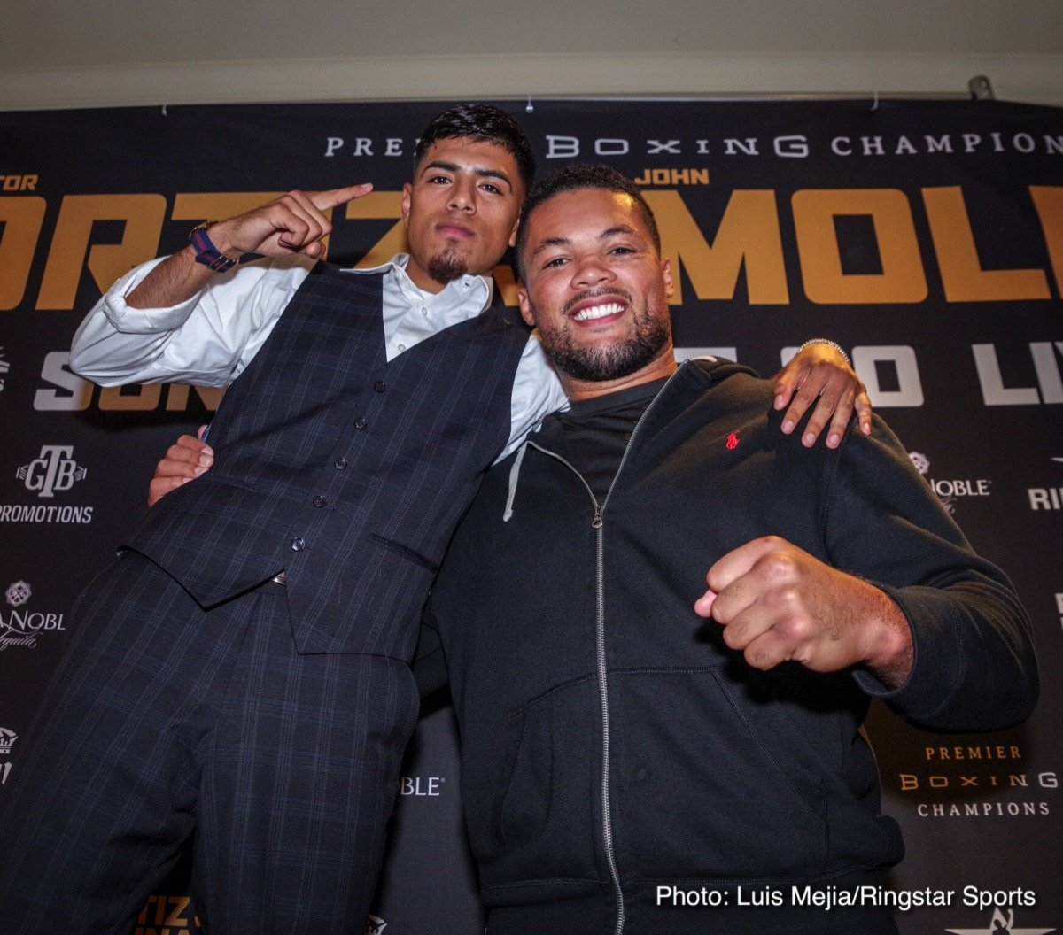 Joe Joyce John Molina jr. Victor Ortiz Boxing News