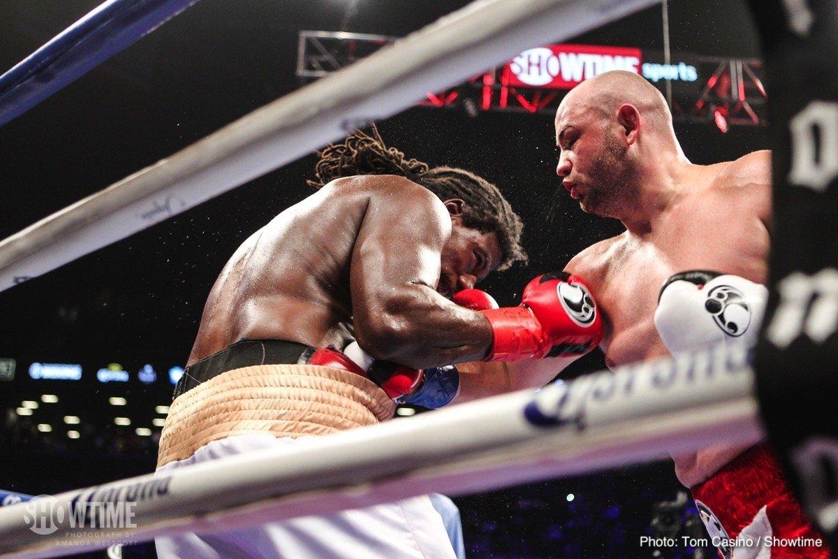 Adam Kownacki Charles Martin Boxing News Boxing Results