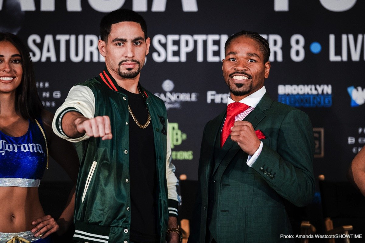 Danny Garcia Shawn Porter Boxing News Top Stories Boxing